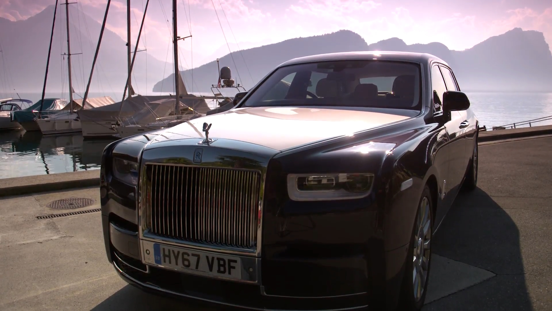 Skepta transforms new Rolls Royce Phantom into rolling recording studio en