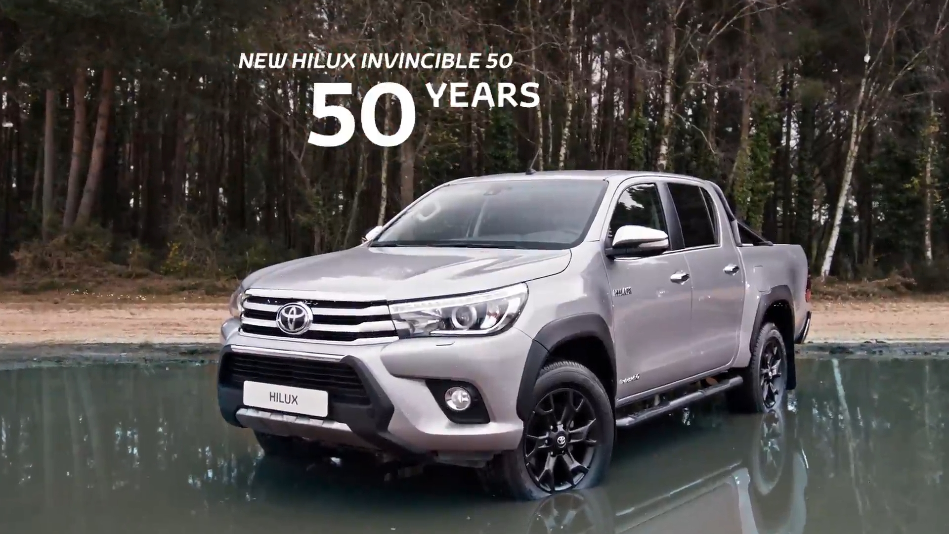 50th Anniversary of Toyota Hilux Invincible 50 Black Edition