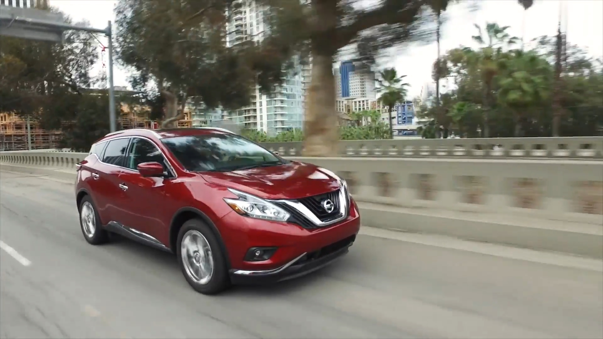 2018 Nissan Murano Driving Video