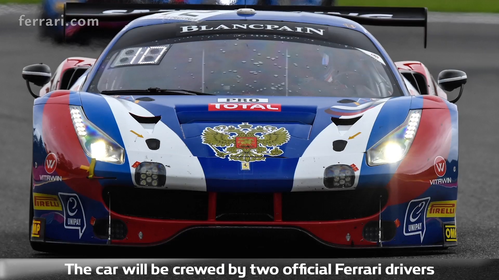 Blancpain Endurance Cup Rinaldi Racing s Ferrari wins in Monza it en