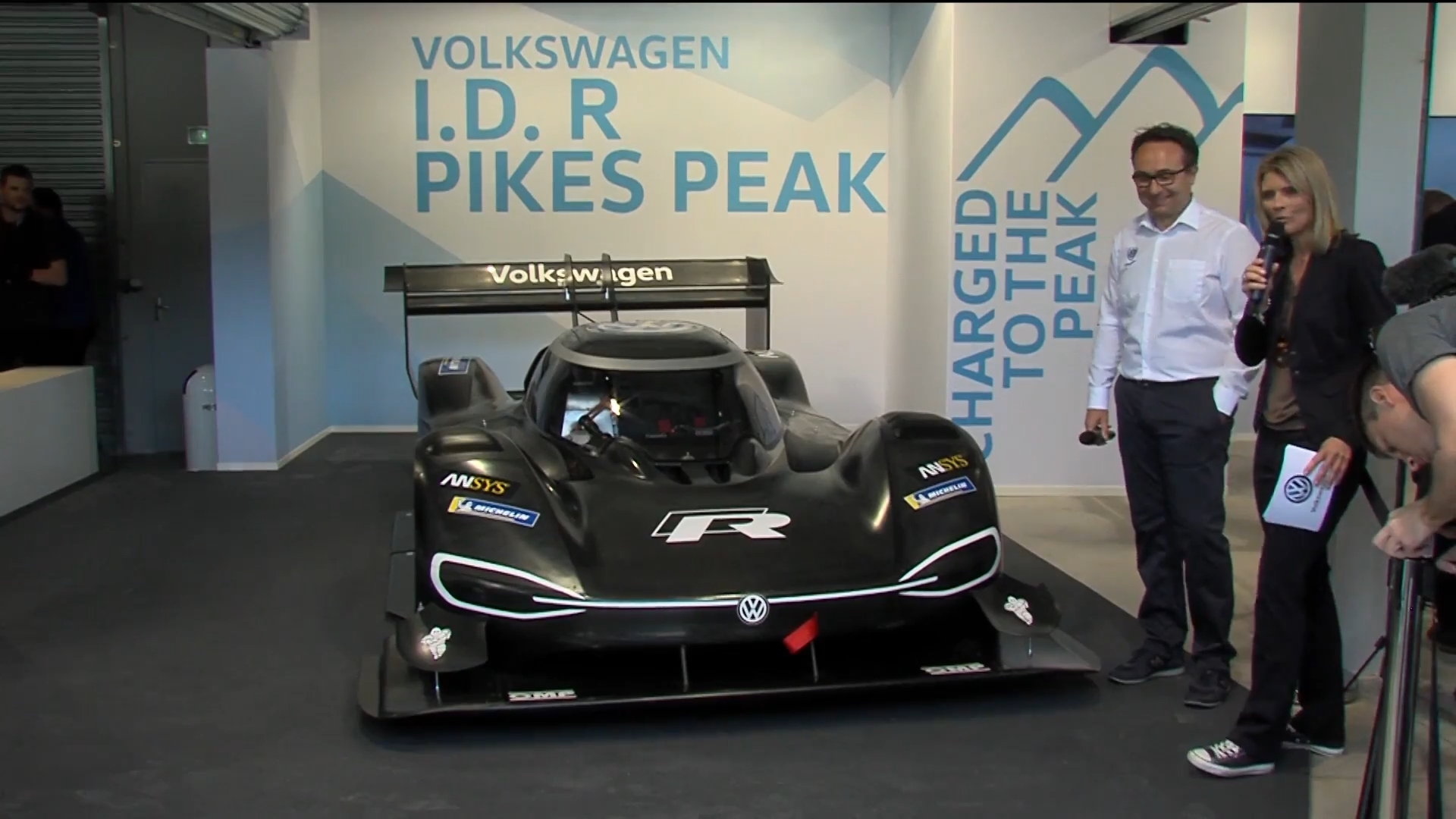 World premiere VW I D R Pikes Peak en