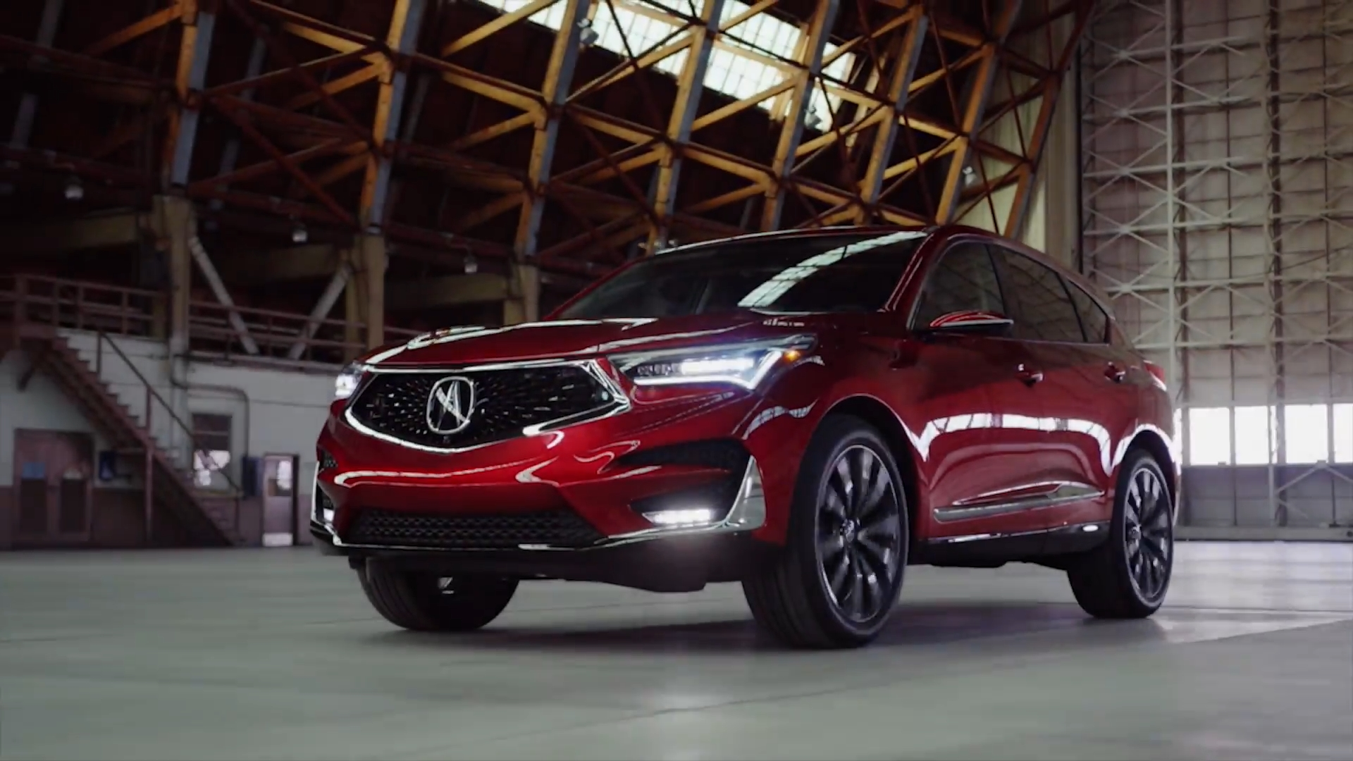 2019 Acura RDX Prototype Driving Video