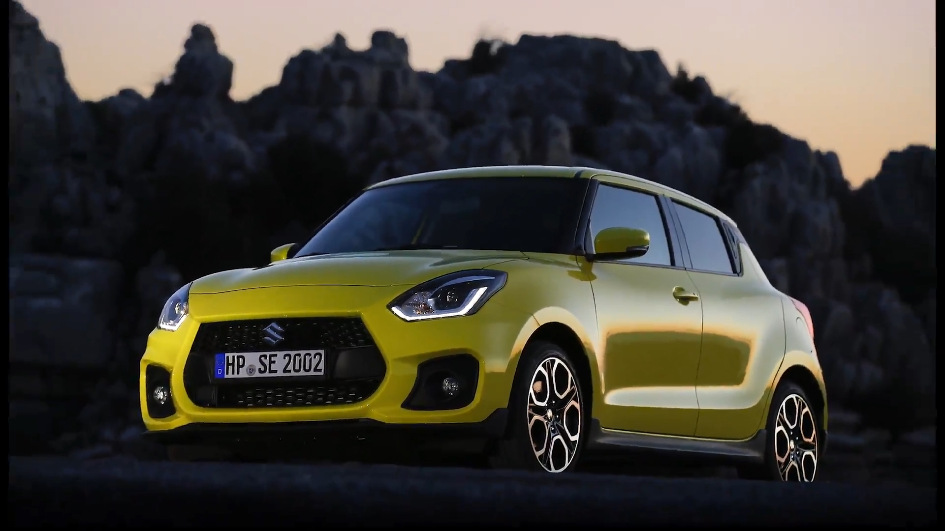 Suzuki SWIFT Sport Video Preview