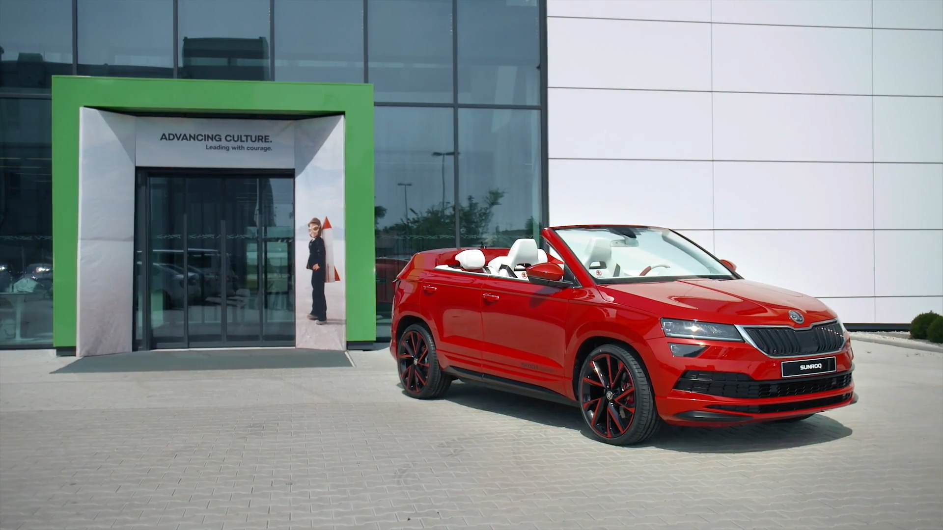 Skoda Sunroq Making of Story en