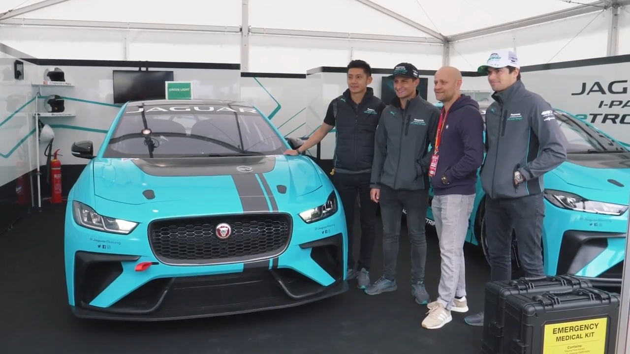 2018 Jaguar I Pace Preview and Formula E Grand Prix Berlin en