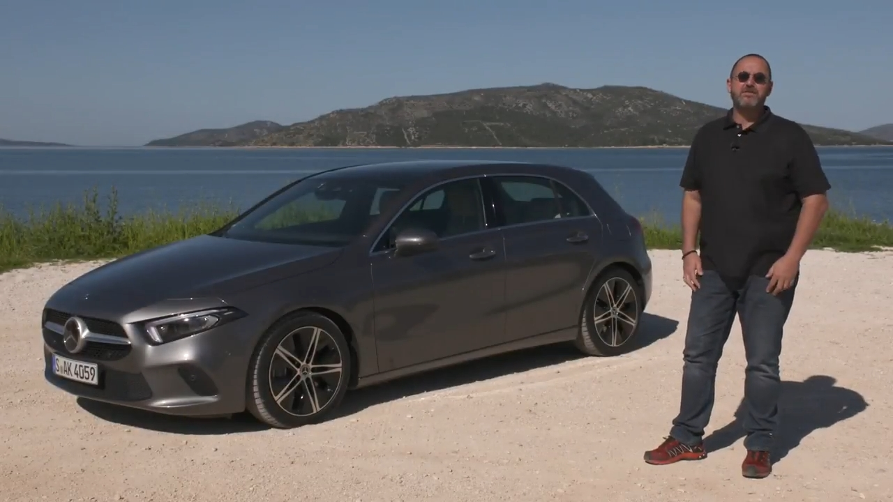 2018 Mercedes Benz A Class Review and Test Drive with the A 180 d en