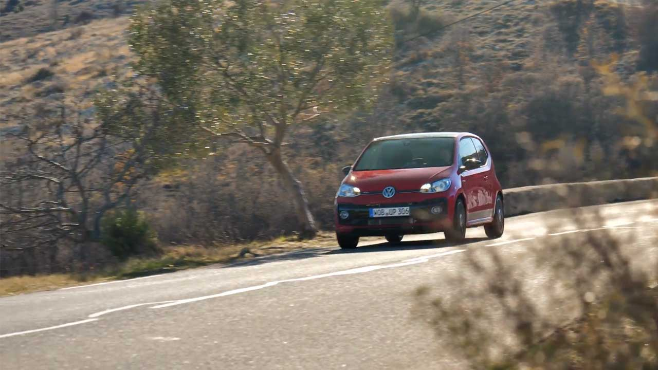 The new Volkswagen up GTI Driving Video