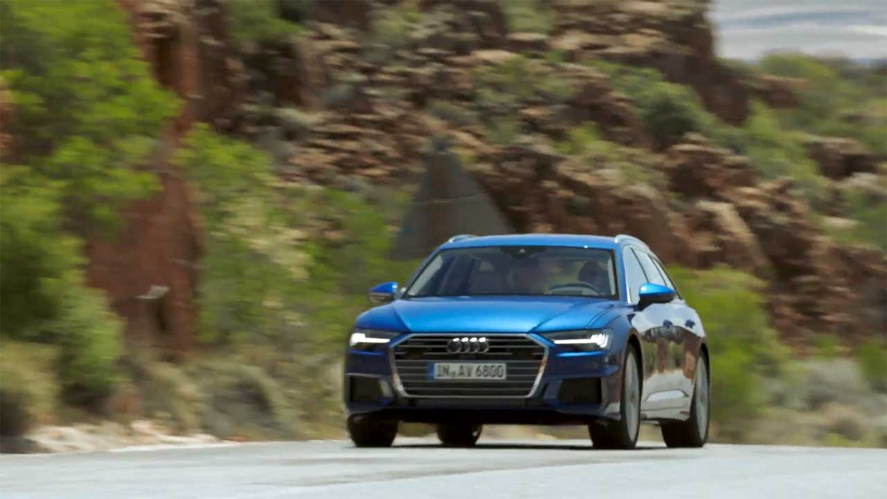 The new Audi A6 Avant Driving Video