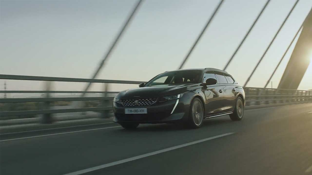 The all new PEUGEOT 508 SW
