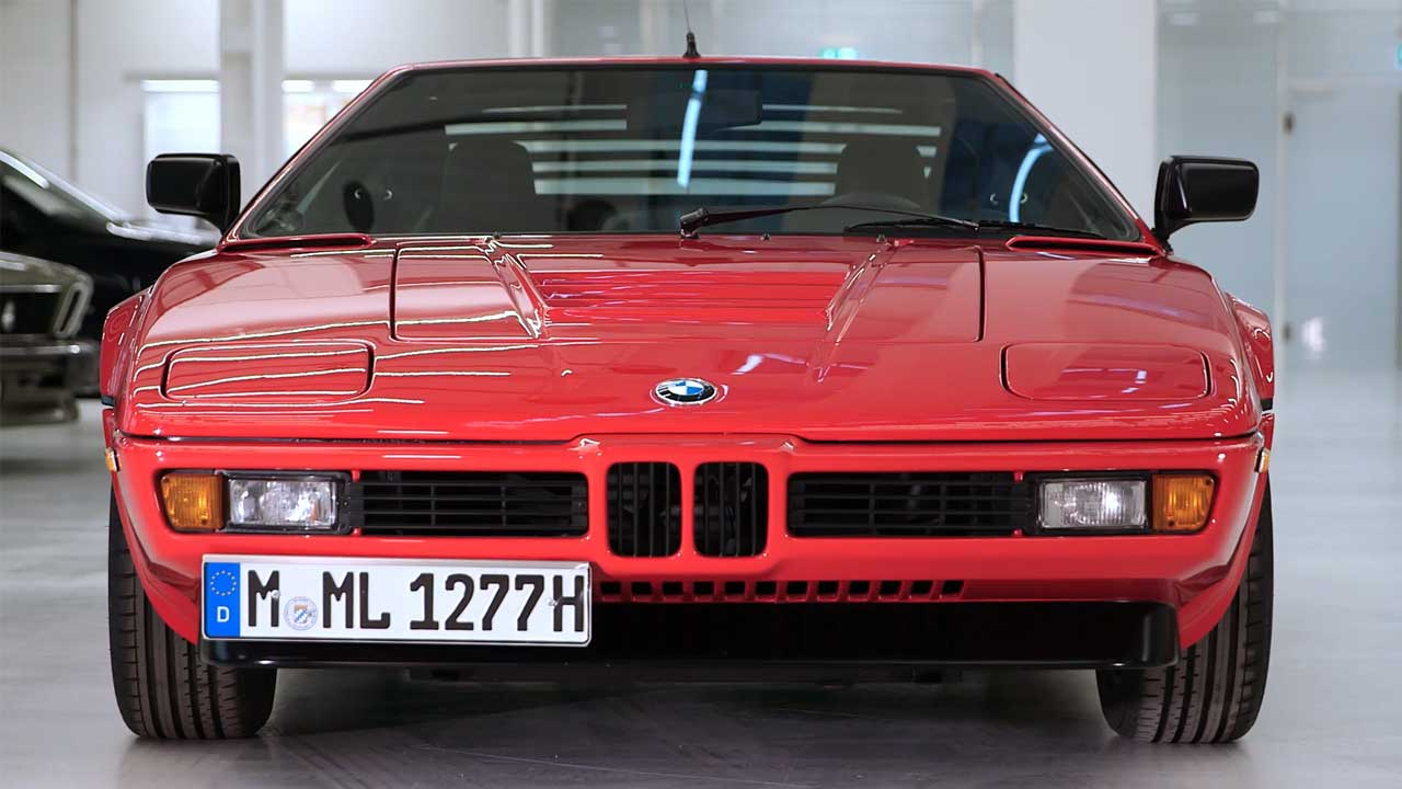 40 years of BMW M1 Design