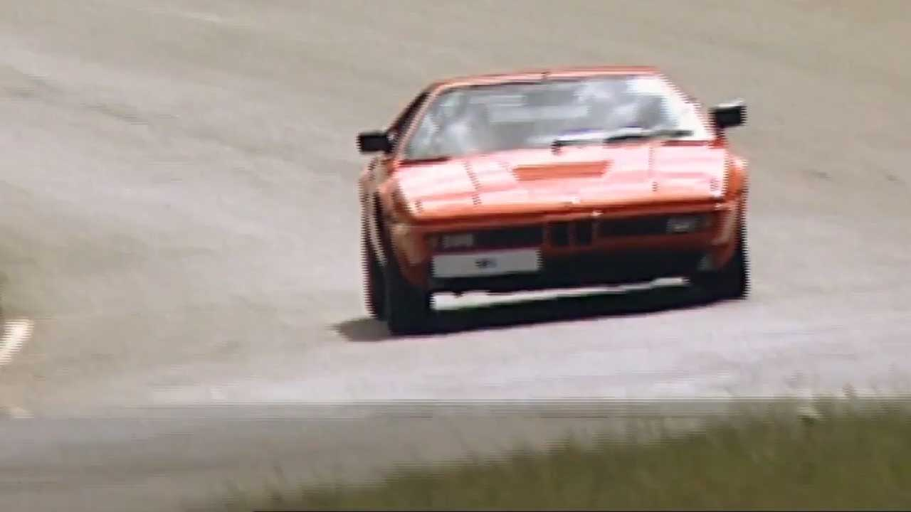 40 years of BMW M1 Driving